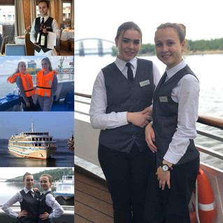 """Виробнича практика на українському пасажирському судні """"Viking Sineus"""