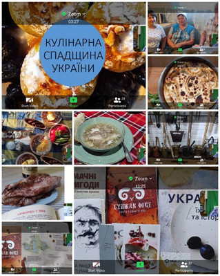 """Онлайн - лекція :  """"Кулінарна спадщина України"""""""