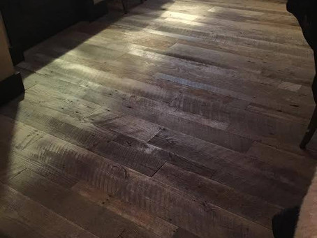 Tennessee Wood Flooring at Tryon Public House