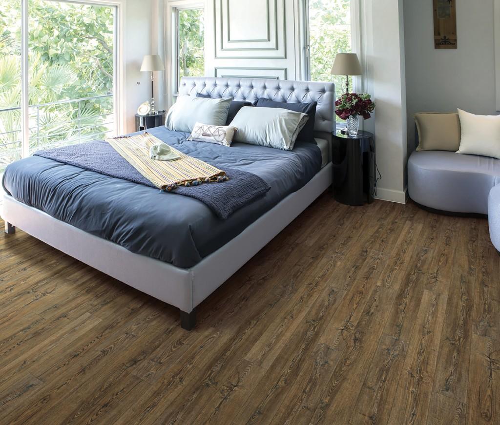 Delta Rustic Pine room