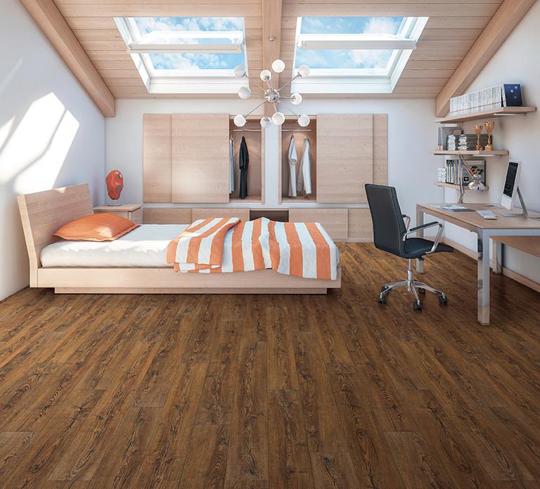 Barnwood Rustic Pine room