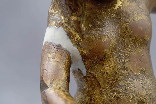Conservation of Decorative Metal Figure