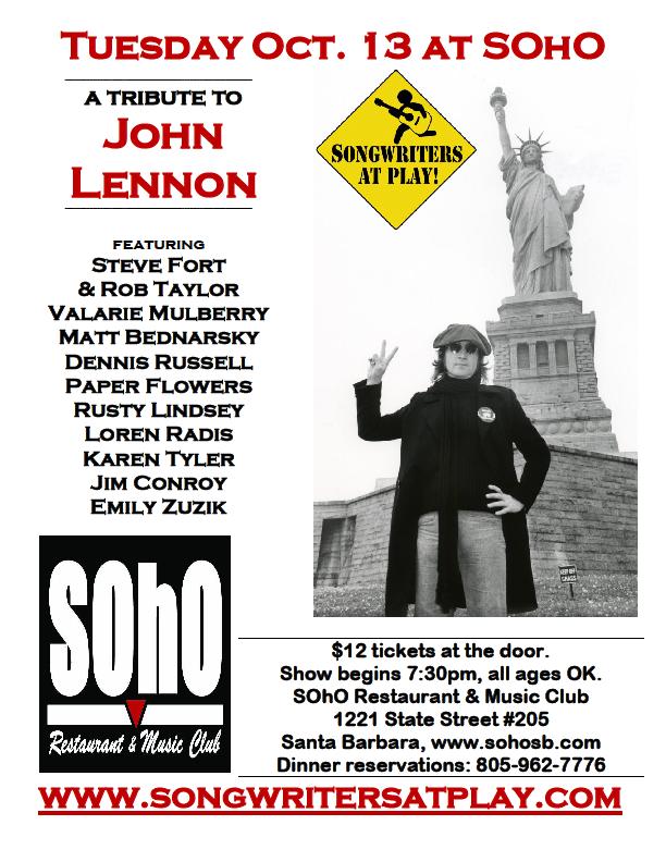 SOhO_10-1-15_John_Lennon_tribute_flier