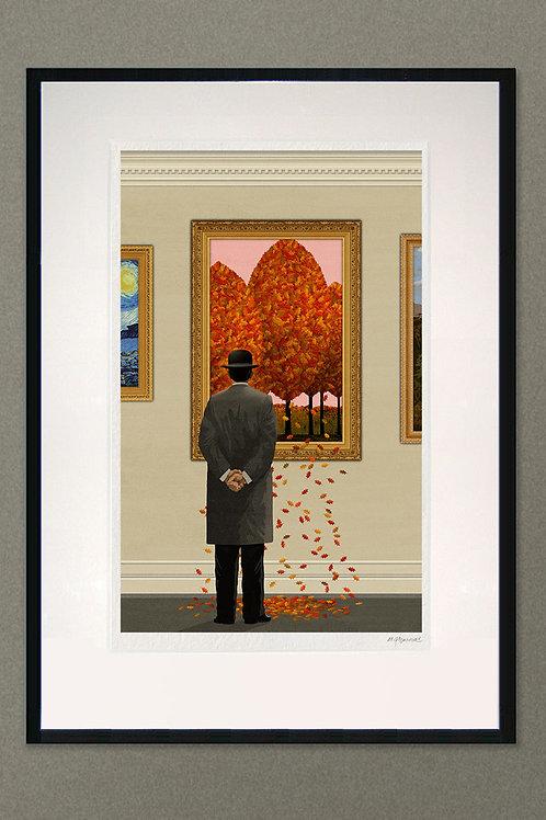 "Giclée print: ""Falling Leaves"""