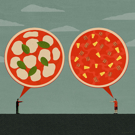 The Great Pizza Debate