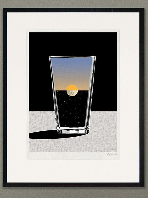 "Giclée print: ""Night and Day"""