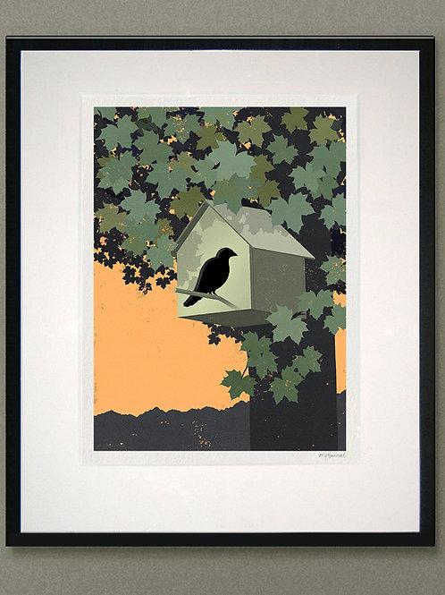 "Giclée print: ""Birdhouse"""