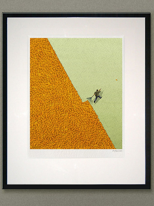 "Giclée print: ""Leaves"""