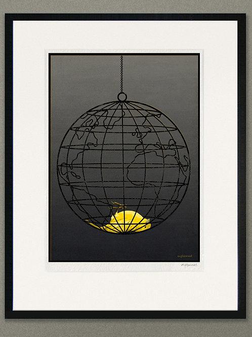 """Giclée print: """"Canary"""""""