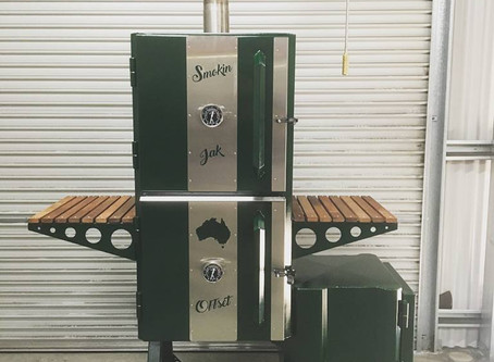 Fully Insulated Offset Smoker