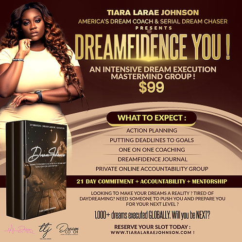 Dreamfidence YOU: An Intensive Dream Execution Mastermind