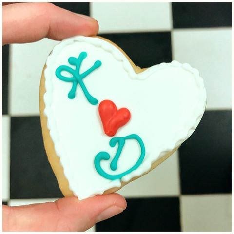 Monogrammed Sugar Cookie