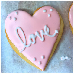 A Literally Lovely Sugar Cookie