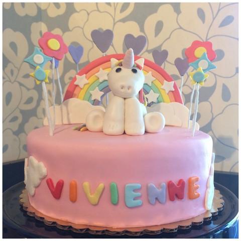 Fondant Unicorn Cake