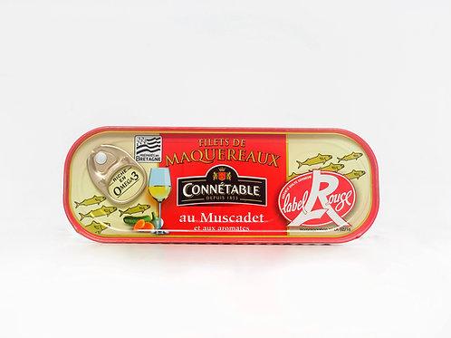 Makreelfilet met muscadet en aromaten