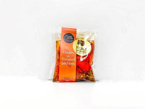 Palet de tomates sechees marco baselic et origan