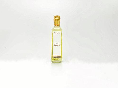 Zonnebloemolie met witte truffel