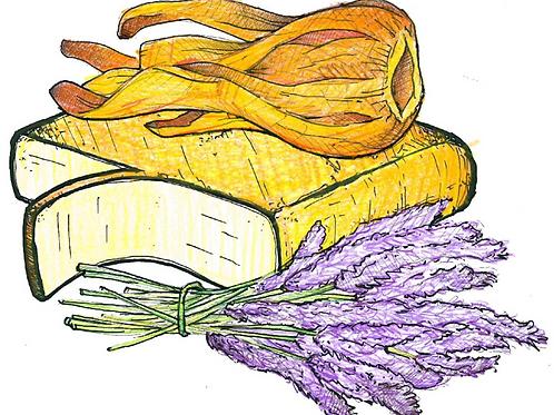Raclette met Lavendel en Foelie