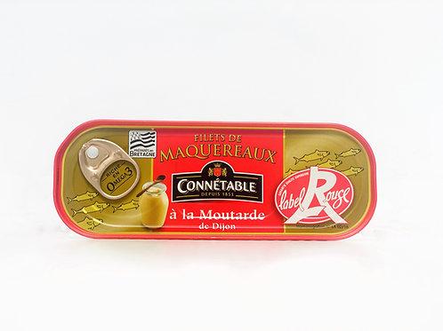 Makreelfilet met mosterd van Dijon