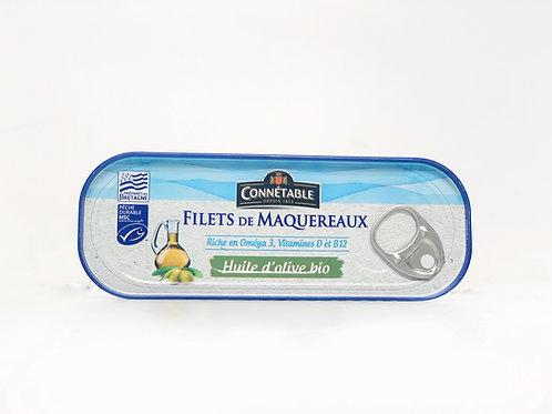 Makreelfilet op olijfolie