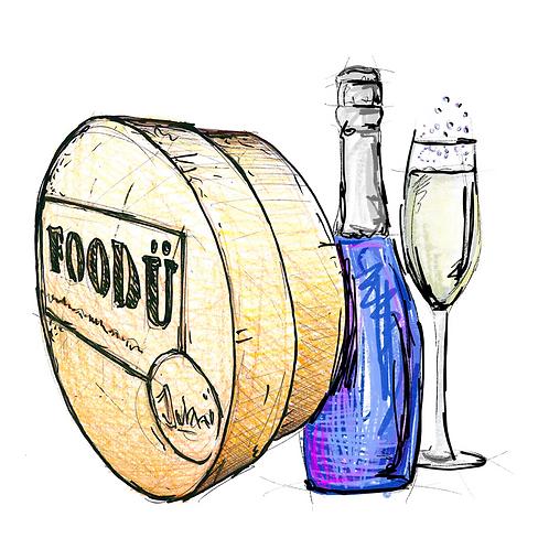 Kaasfondue Mousserende wijn 3pers