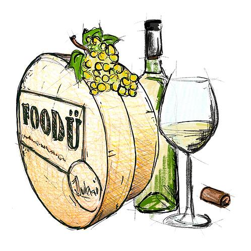 Kaasfondue Witte wijn 2pers