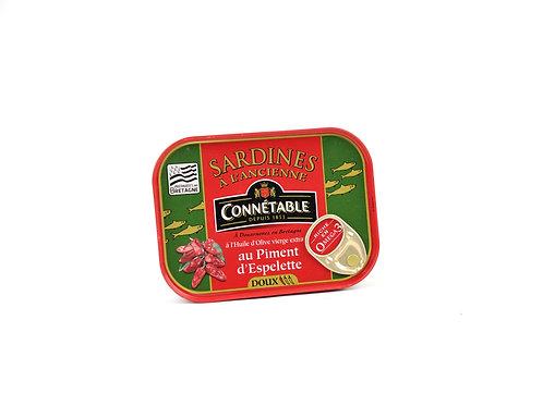 Sardientjes met zachte pepers