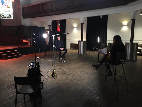Interviewing singer/songwriter Connor Fyfe