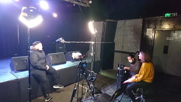 Interviewing Mark Miller at Audio, Glasgow