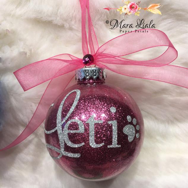 Leti christmas ornament Mara Liala Paper