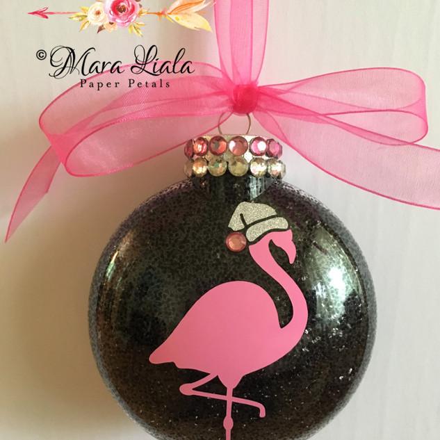 Flamingo xmas ornament Mara Liala Paper