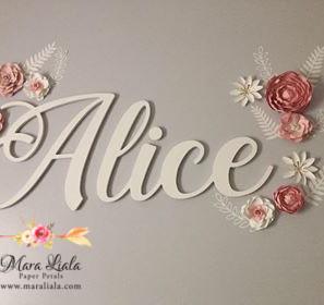 Alice paper flowers Mara Liala Paper Pet
