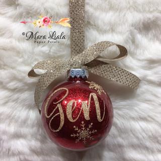 Gen christmas ornament Mara Liala Paper