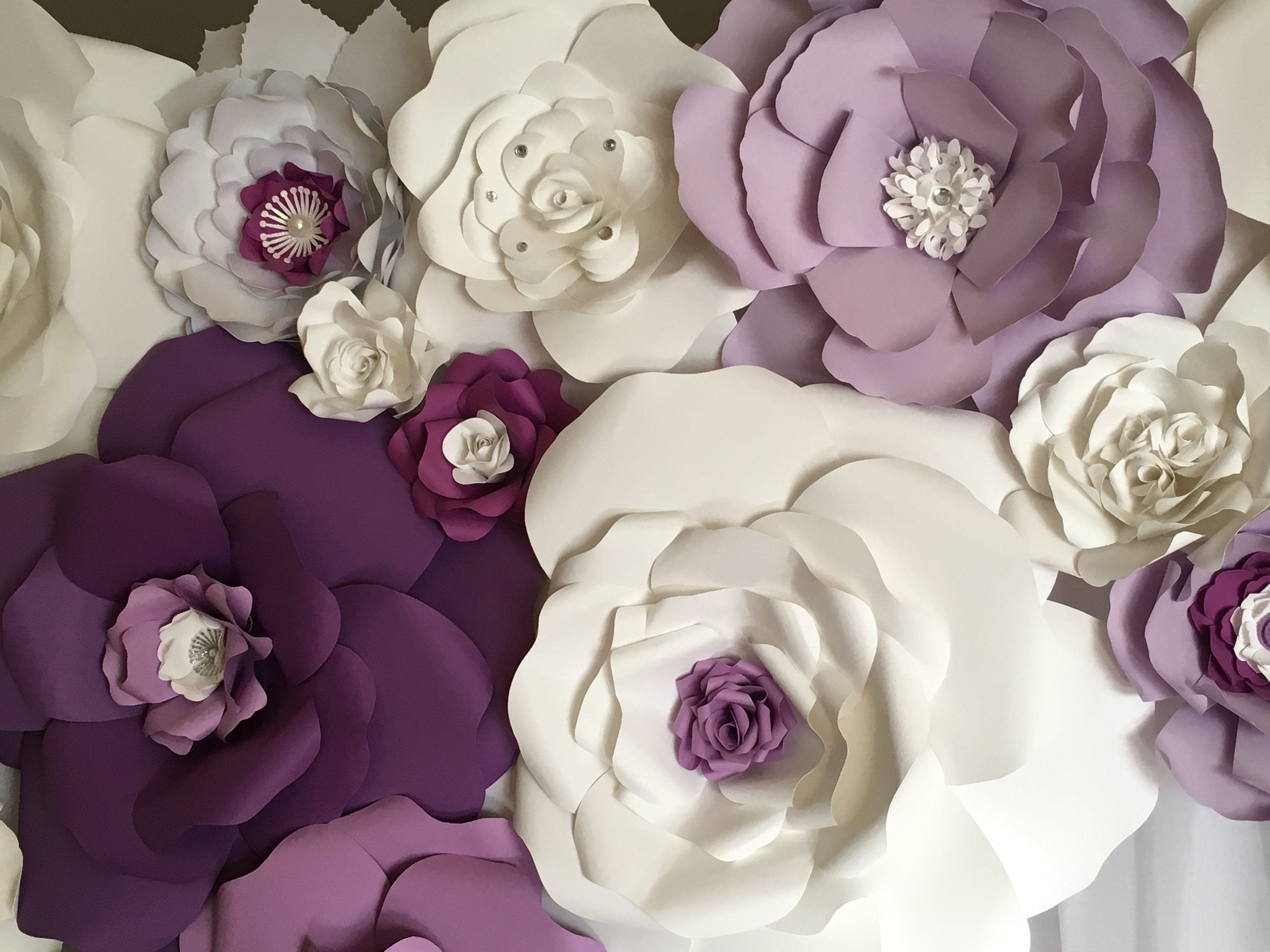 Maria Liala fleurs en papier