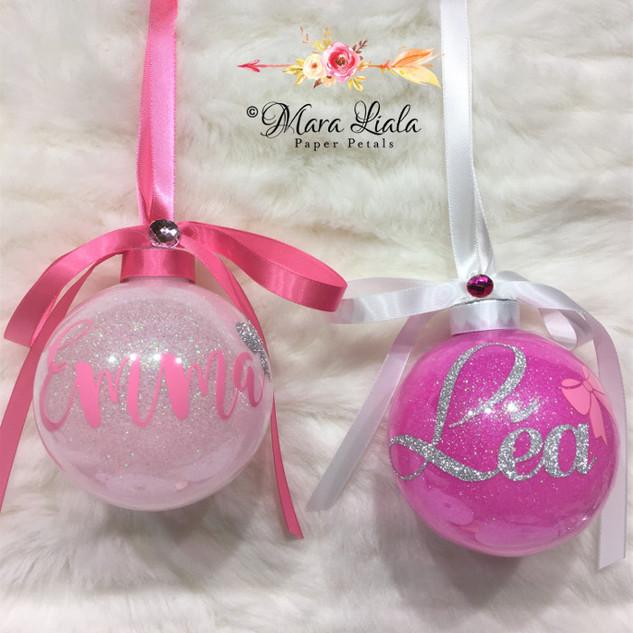 Emma & Lea ornements de noel Mara Liala