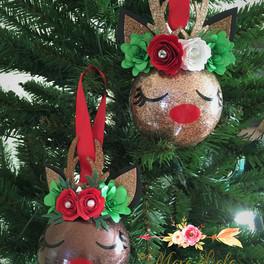 deer ornaments cerf Mara Liala Paper pet