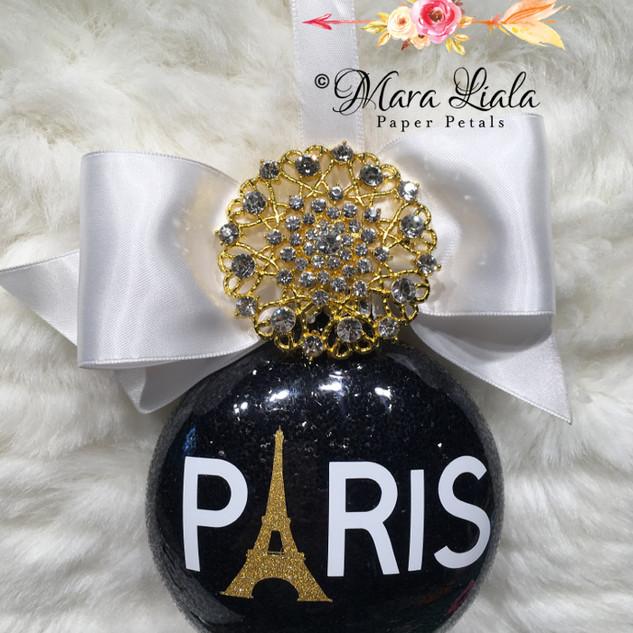 Paris xmas ornament Mara Liala Paper pet