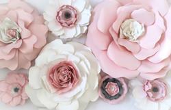 Mara Liala paper petals - fleurs en papi