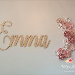 Emma paper flowers Mara Liala Paper Peta