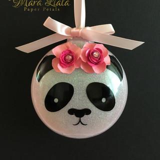 Panda xmas ornament Mara Liala Paper Pet