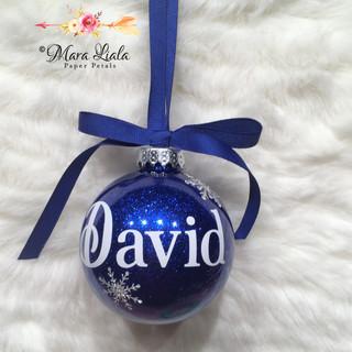 David xmas ornament Mara Liala Paper pet