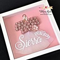 Sierra pink paper flower dress Mara Lial