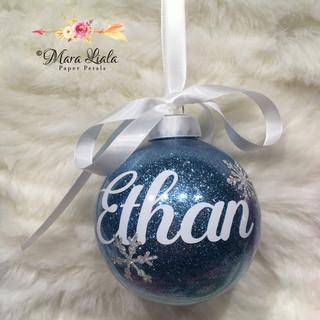 Ethan christmas ornament Mara Liala pape