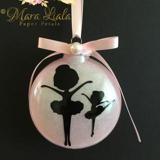 Ballerina xmas ornaments Mara Liala Pape