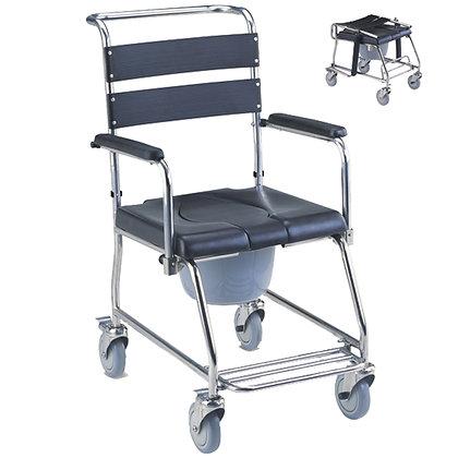 MCF 695S 不鏽鋼有輪沐浴便椅