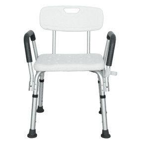 MCF 355L 可拆式扶手靠背沖涼椅