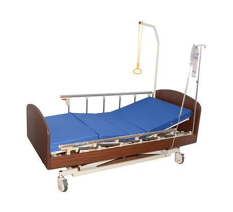CH-7015三功能醫療床連3吋阻燃床墊 (床頭尾側PVC吸塑)