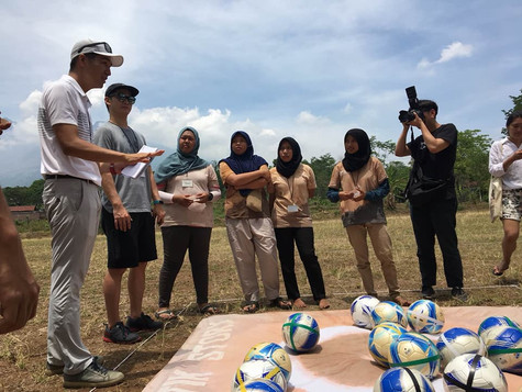 2017 FootGolf Experience Day at 수라바야, 인도네시아