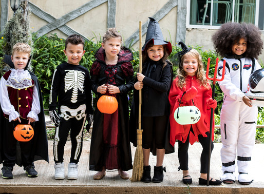 A Social Story for Trick-or-Treating