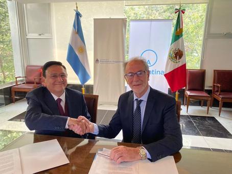 México y Argentina Cierran un Nuevo Acuerdo Comercial que Incluye Varios Productos del Campo
